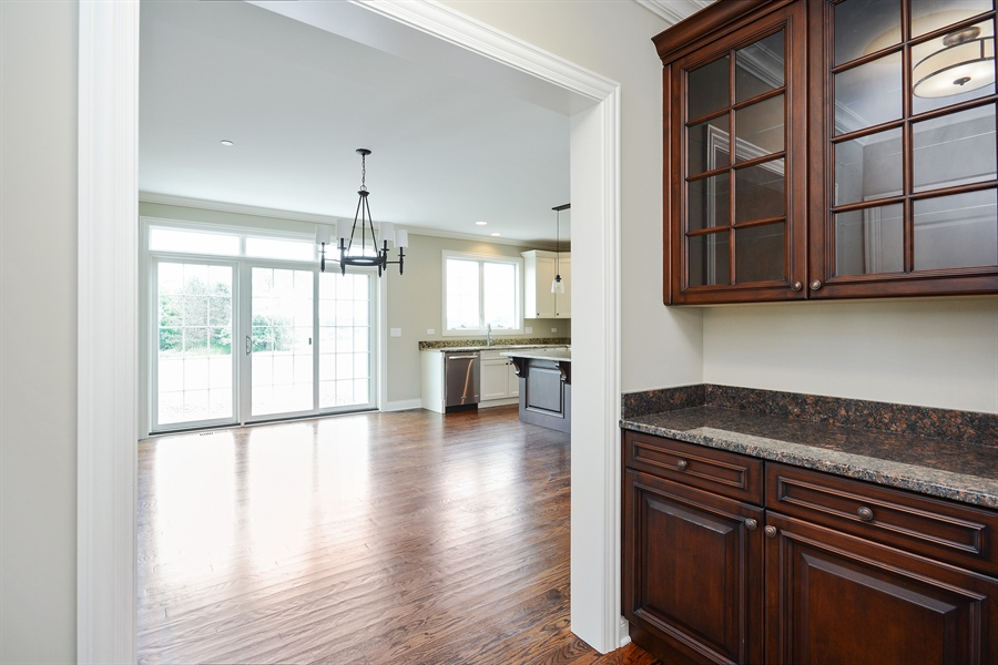 Real Estate Photography - 23245 Enclave Lane, Lot 25, Lake Barrington, IL, 60010 - Pantry