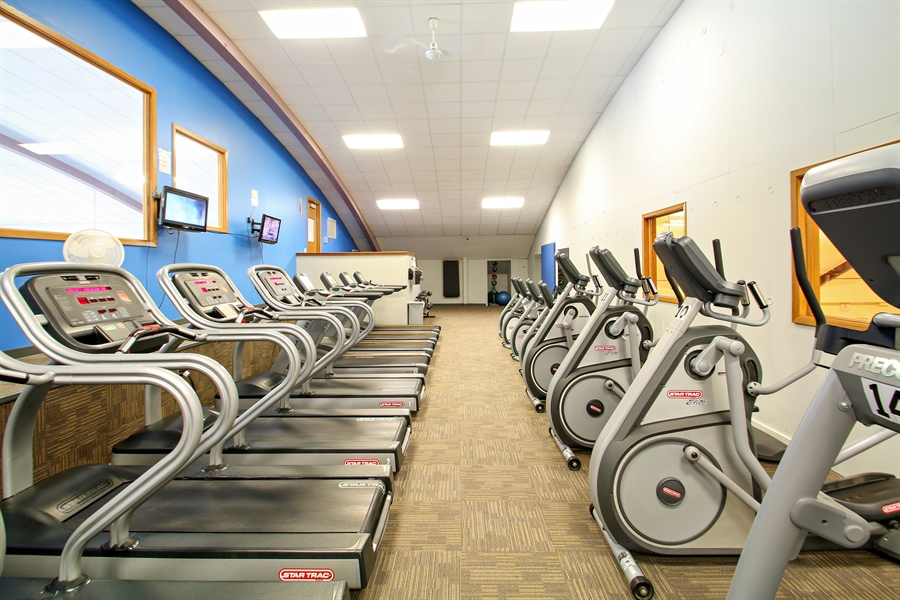 Real Estate Photography - 203 S Wells St, Lake Geneva, WI, 53147 - Upstairs Cardio & Personal Training Center