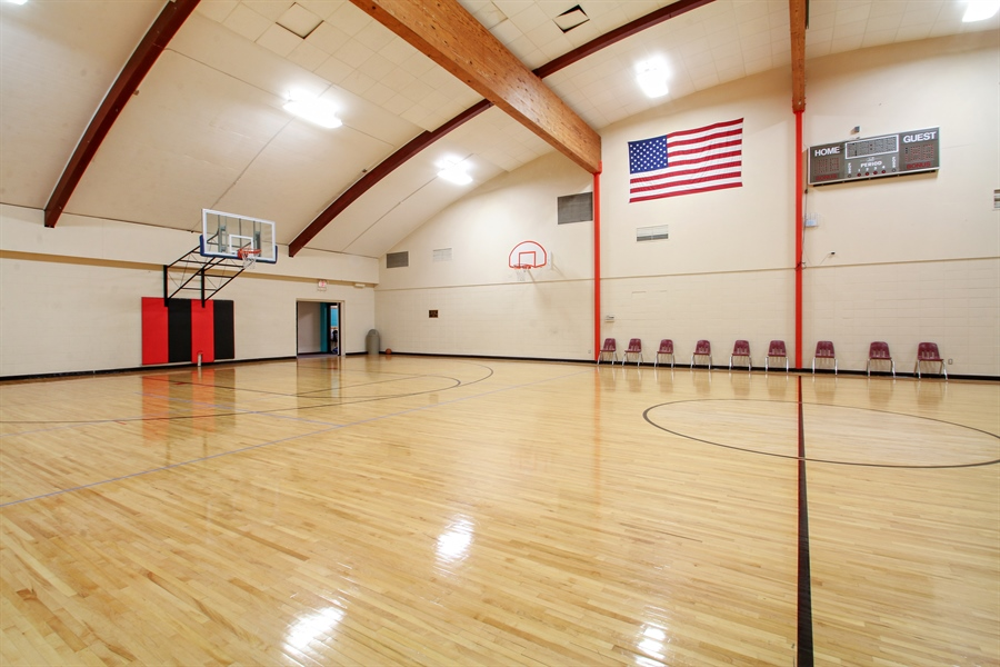 Real Estate Photography - 203 S Wells St, Lake Geneva, WI, 53147 - YMCA Priebe Gym