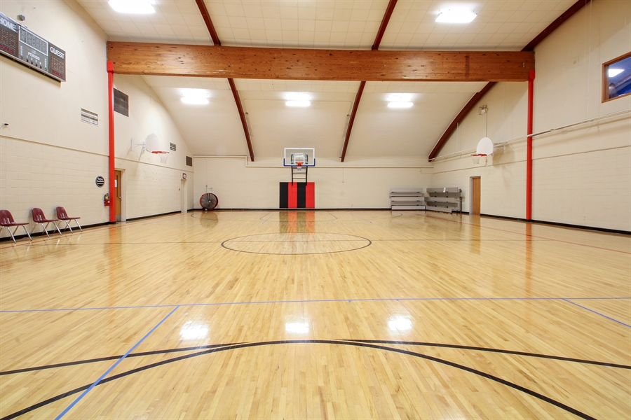 Real Estate Photography - 203 S Wells St, Lake Geneva, WI, 53147 - Shoot Hoops, Play Pickleball & More!