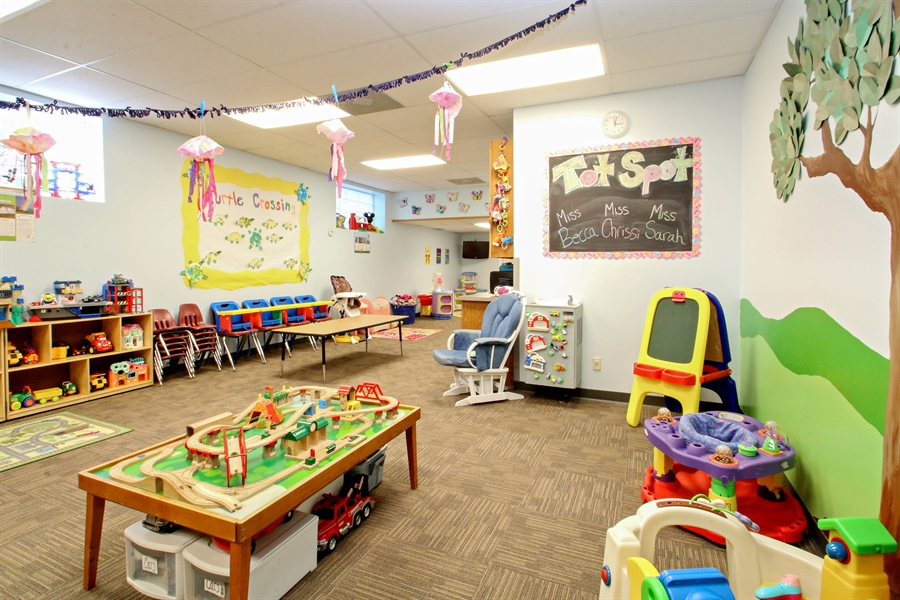 "Real Estate Photography - 203 S Wells St, Lake Geneva, WI, 53147 - Drop-In Childcare at the YMCA ""Tot-Spot"""