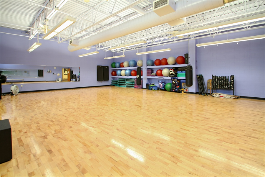 Real Estate Photography - 203 S Wells St, Lake Geneva, WI, 53147 - Large Studio for Fitness Classes