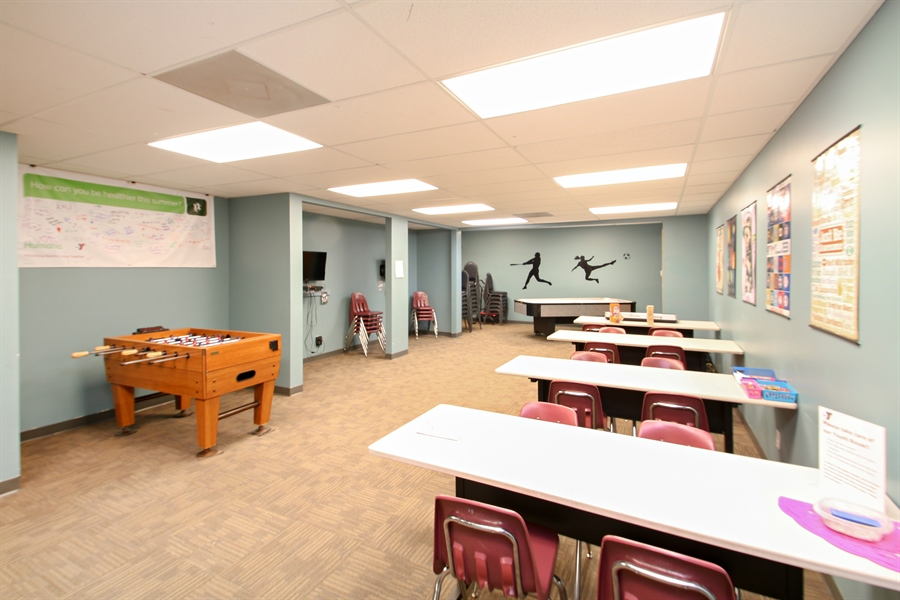 Real Estate Photography - 203 S Wells St, Lake Geneva, WI, 53147 - YMCA Youth Activity Center
