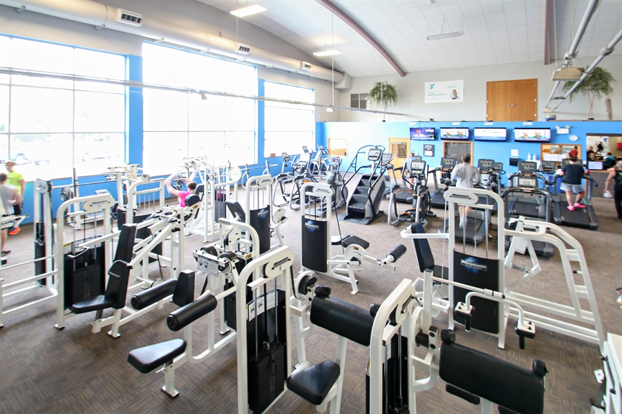 Real Estate Photography - 203 S Wells St, Lake Geneva, WI, 53147 - Offering High-End Cardio & Circuit Equipment