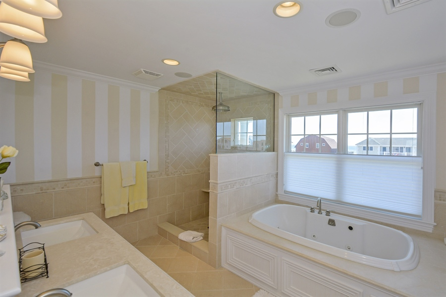 Real Estate Photography - 708 Dune Rd, Westhampton Beach, NY, 11978 - Master Bathroom