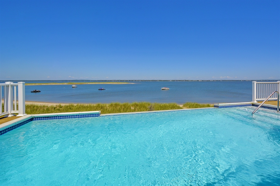 Real Estate Photography - 708 Dune Rd, Westhampton Beach, NY, 11978 - Pool