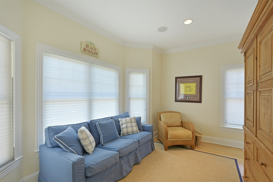 Real Estate Photography - 708 Dune Rd, Westhampton Beach, NY, 11978 - Family Room