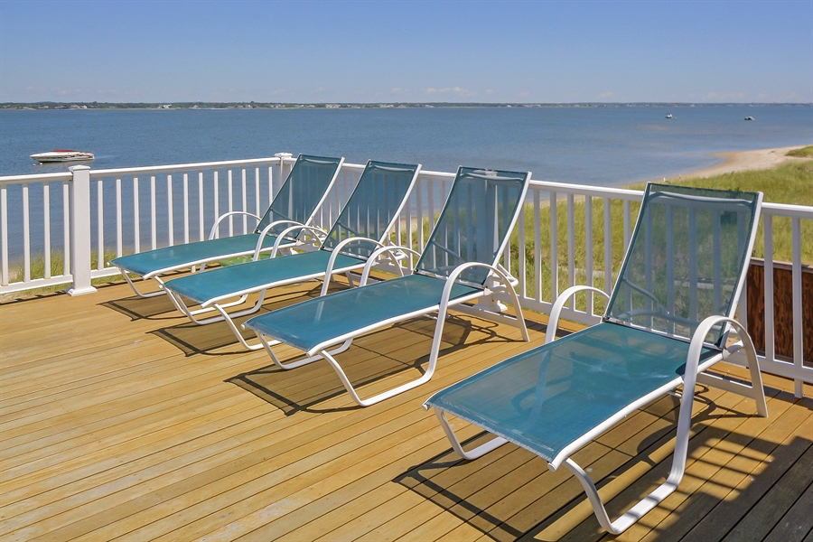 Real Estate Photography - 708 Dune Rd, Westhampton Beach, NY, 11978 - Sundeck