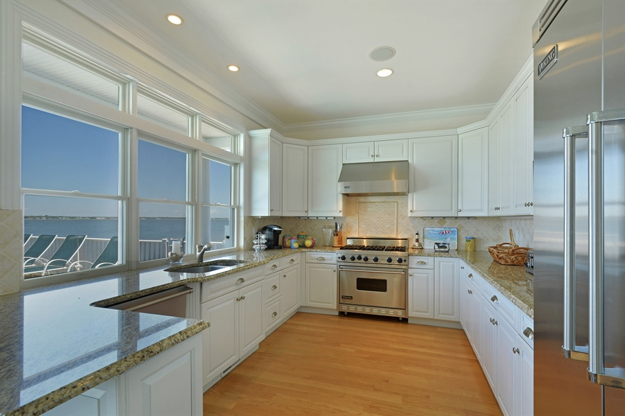 Real Estate Photography - 708 Dune Rd, Westhampton Beach, NY, 11978 - Kitchen