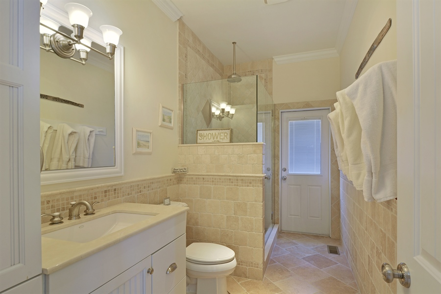 Real Estate Photography - 708 Dune Rd, Westhampton Beach, NY, 11978 - Bathroom
