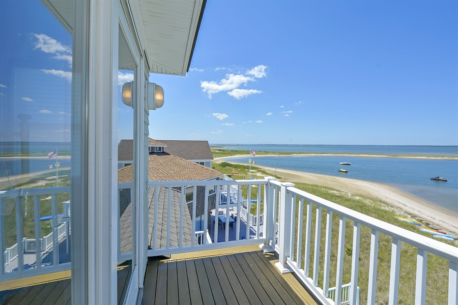 Real Estate Photography - 708 Dune Rd, Westhampton Beach, NY, 11978 - Balcony