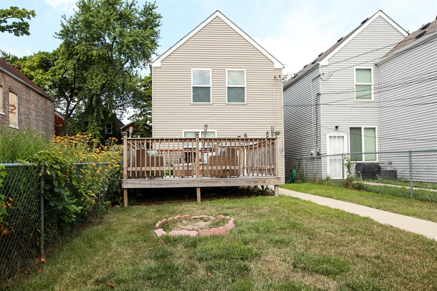 Real Estate Photography - 1515 S. Harding Ave, Chicago, IL, 60623 - Back Yard
