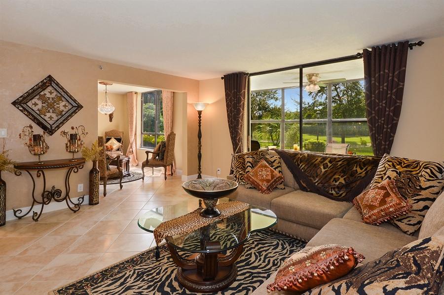 Real Estate Photography - 7194 Promenade, 101, Boca Raton, FL, 33433 - Family Room