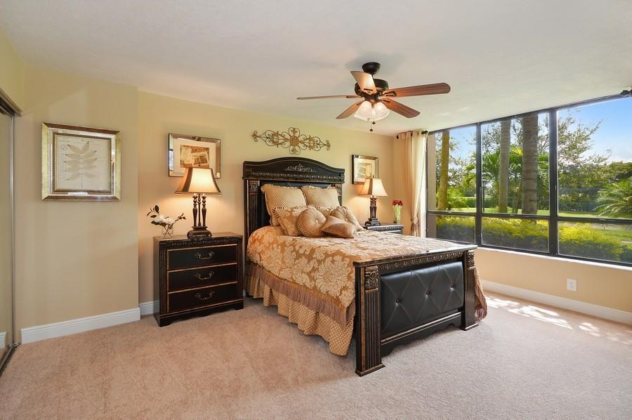 Real Estate Photography - 7194 Promenade, 101, Boca Raton, FL, 33433 - Master Bedroom