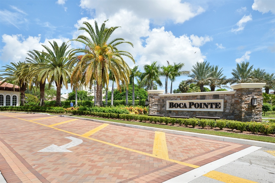 Real Estate Photography - 7194 Promenade, 101, Boca Raton, FL, 33433 - Entrance to Boca Pointe