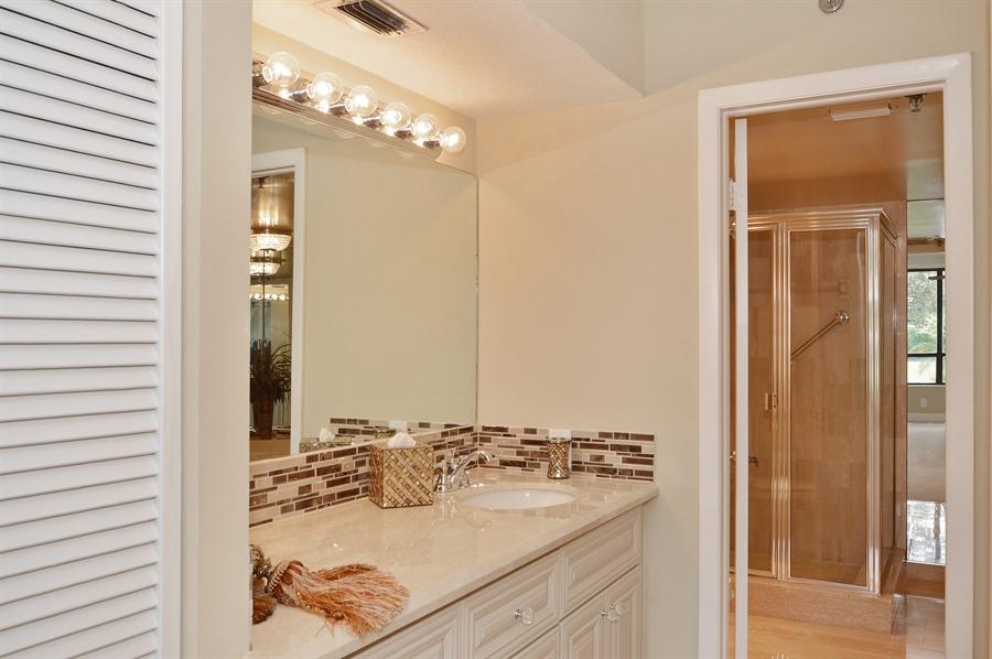 Real Estate Photography - 7194 Promenade, 101, Boca Raton, FL, 33433 - Master Bathroom
