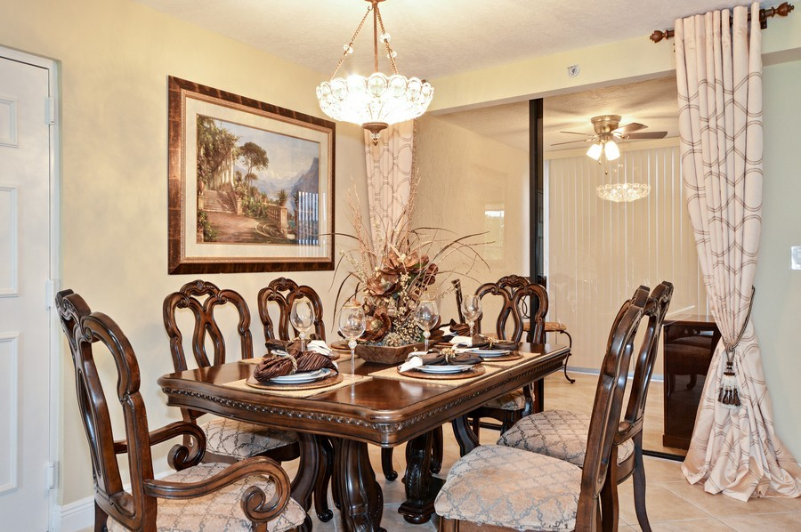 Real Estate Photography - 7194 Promenade, 101, Boca Raton, FL, 33433 - Formal Dining Room