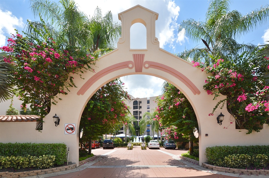 Real Estate Photography - 7194 Promenade, 101, Boca Raton, FL, 33433 - Entrance to Promenade