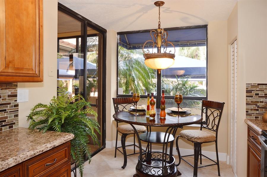 Real Estate Photography - 7194 Promenade, 101, Boca Raton, FL, 33433 - Breakfast Area