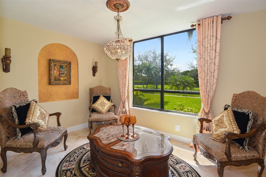 Real Estate Photography - 7194 Promenade, 101, Boca Raton, FL, 33433 - Living Room