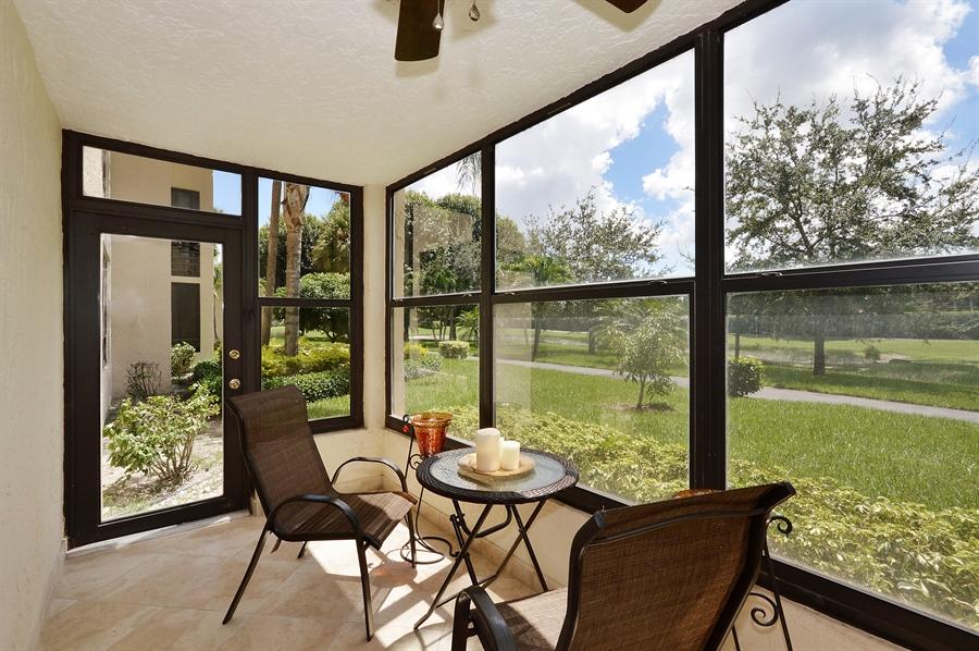 Real Estate Photography - 7194 Promenade, 101, Boca Raton, FL, 33433 - Patio