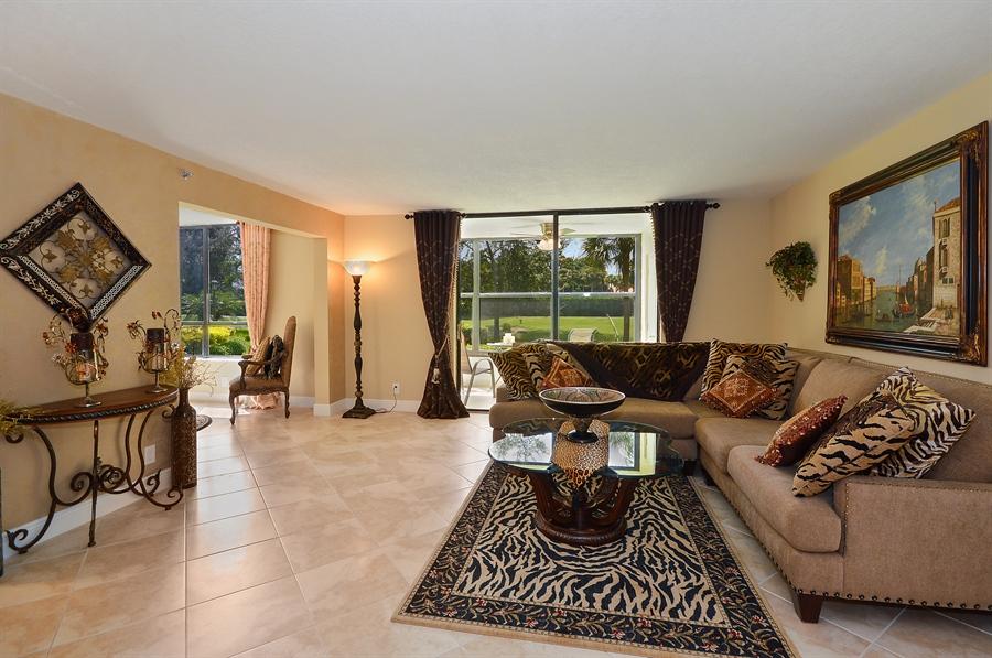Real Estate Photography - 7194 Promenade, 101, Boca Raton, FL, 33433 - Sun Room