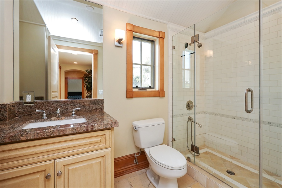 Real Estate Photography - 300 Catalina Dr, Newport Beach, CA, 92663 - 2nd Bathroom
