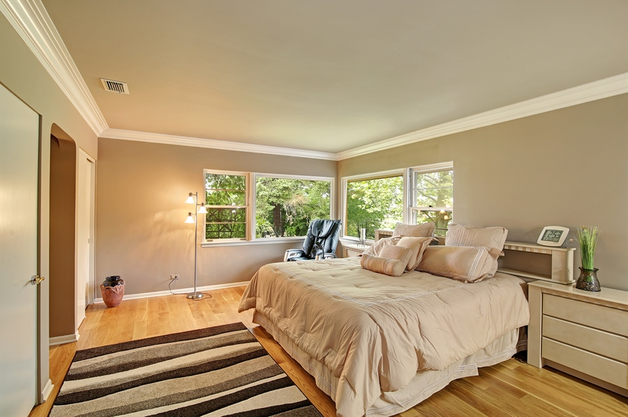 Real Estate Photography - 8400 Kearney, Downers Grove, IL, 60516 - 3rd Bedroom
