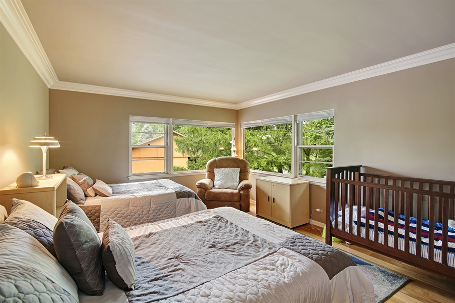 Real Estate Photography - 8400 Kearney, Downers Grove, IL, 60516 - 4th Bedroom
