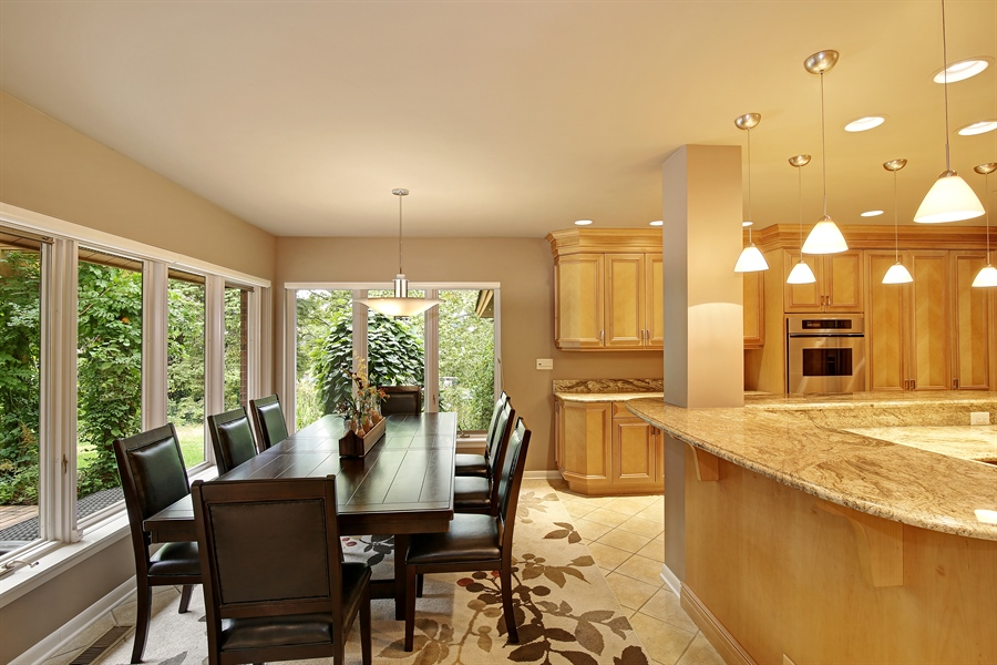 Real Estate Photography - 8400 Kearney, Downers Grove, IL, 60516 - Kitchen / Breakfast Room