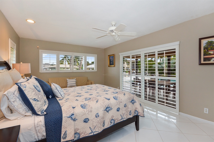 Real Estate Photography - 3900 NE 6th Dr., Boca Raton, FL, 33431 - Master Bedroom