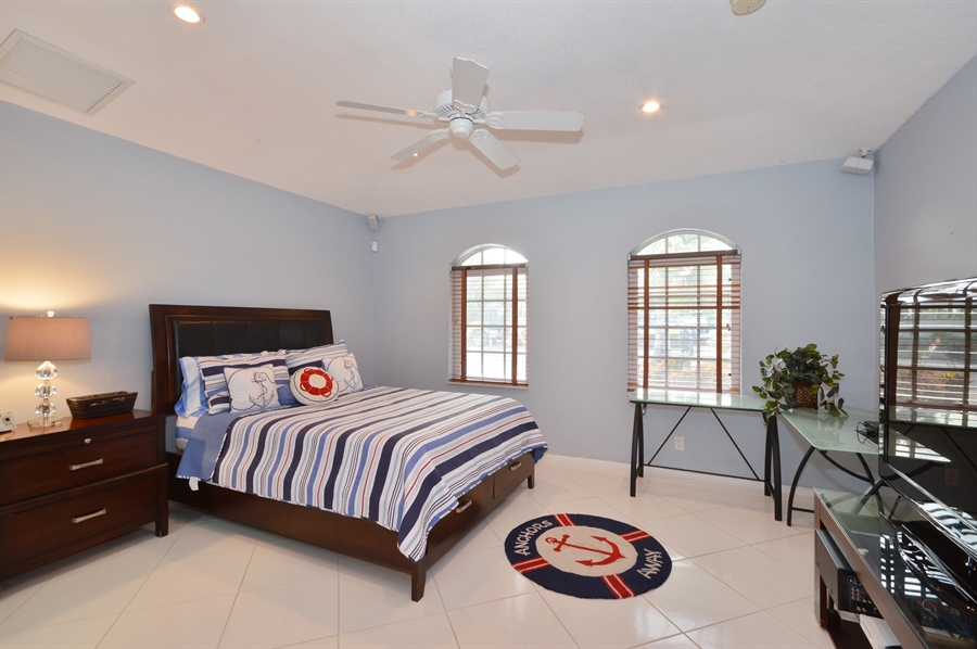 Real Estate Photography - 3900 NE 6th Dr., Boca Raton, FL, 33431 - 2nd Bedroom
