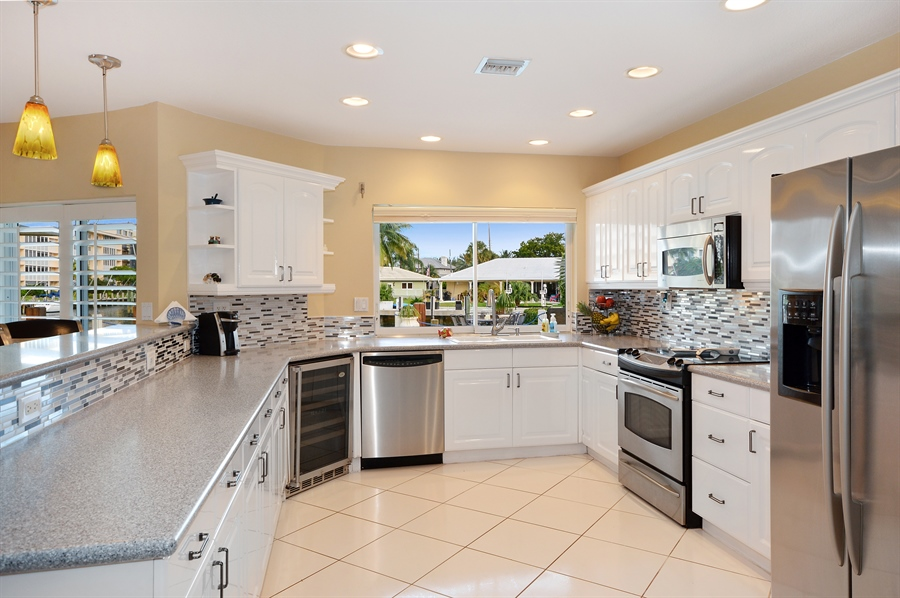 Real Estate Photography - 3900 NE 6th Dr., Boca Raton, FL, 33431 - Kitchen