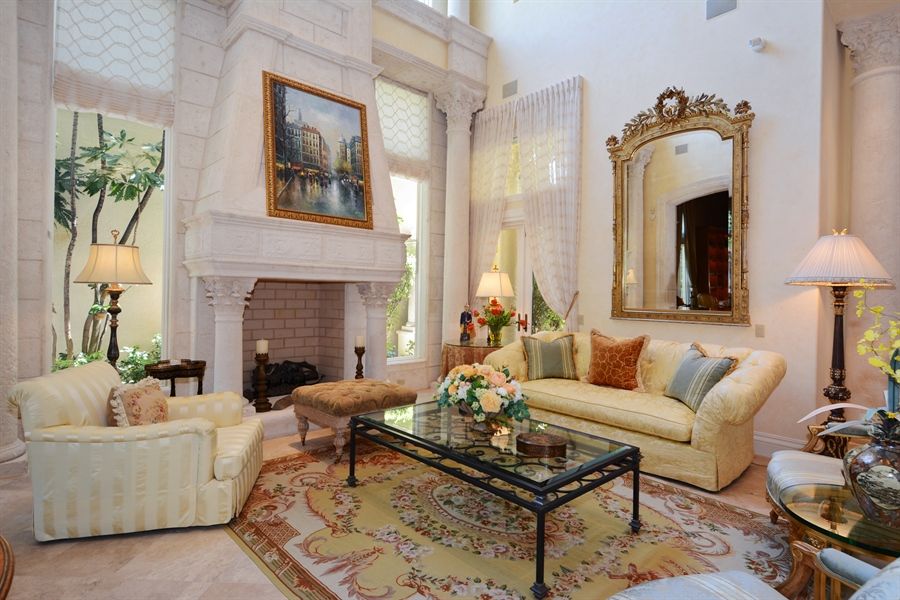 Real Estate Photography - 464 Adison Park Ln, Boca Raton, FL, 33432 - Living Room