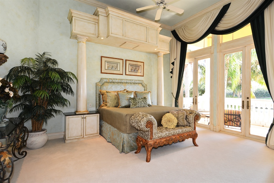 Real Estate Photography - 464 Adison Park Ln, Boca Raton, FL, 33432 - Master Bedroom