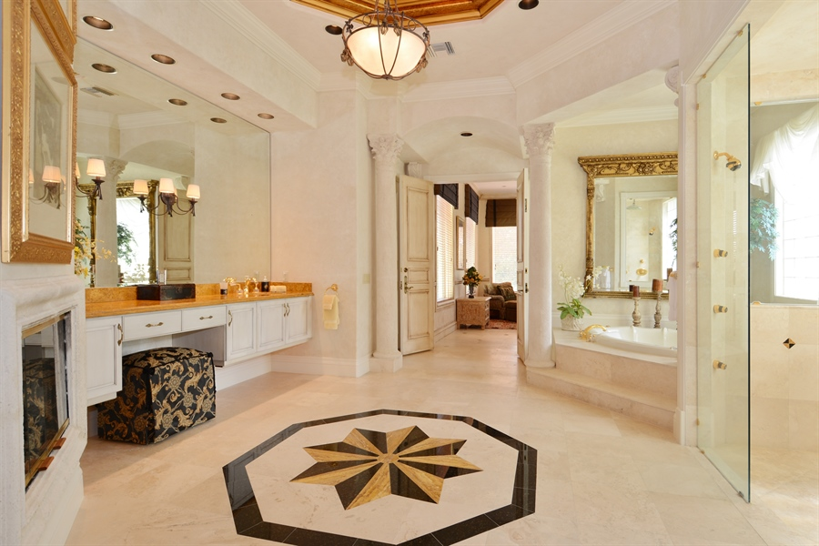 Real Estate Photography - 464 Adison Park Ln, Boca Raton, FL, 33432 - Her Bathroom