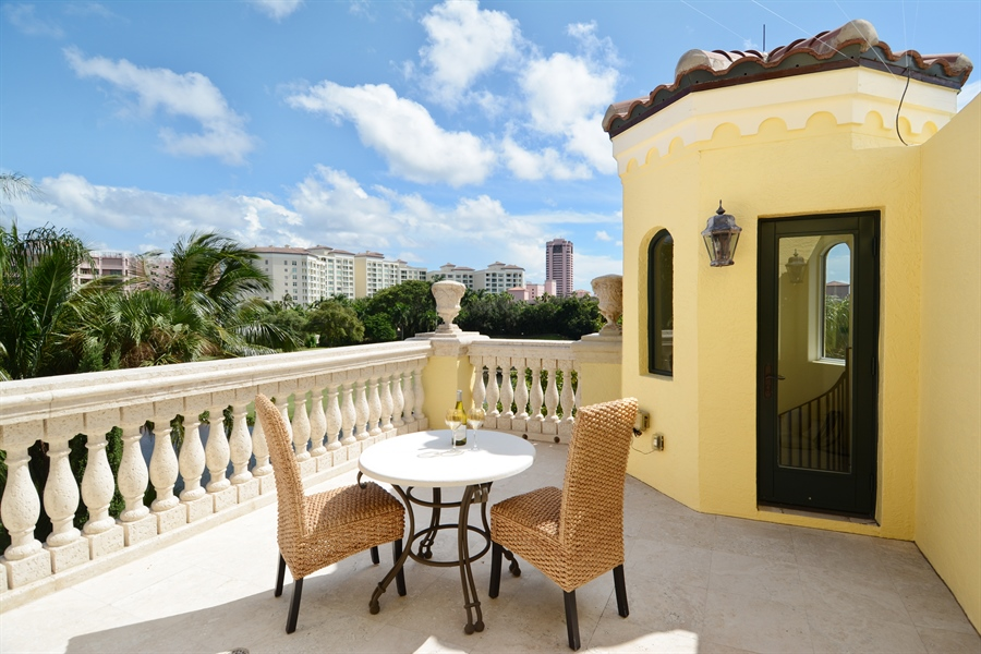 Real Estate Photography - 464 Adison Park Ln, Boca Raton, FL, 33432 - Roof Deck