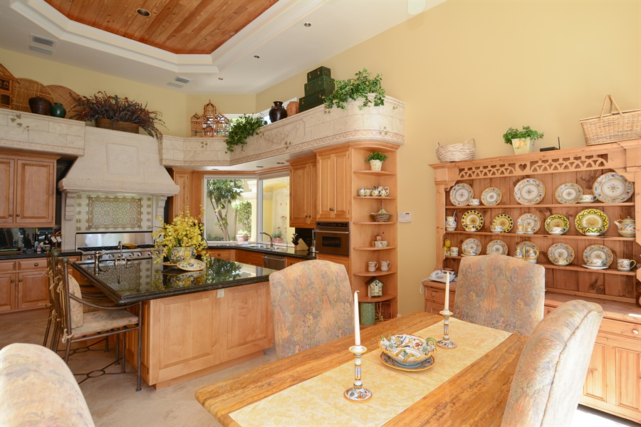 Real Estate Photography - 464 Adison Park Ln, Boca Raton, FL, 33432 - Kitchen / Breakfast Room
