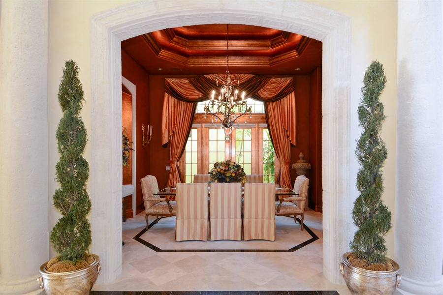 Real Estate Photography - 464 Adison Park Ln, Boca Raton, FL, 33432 - Dining Room