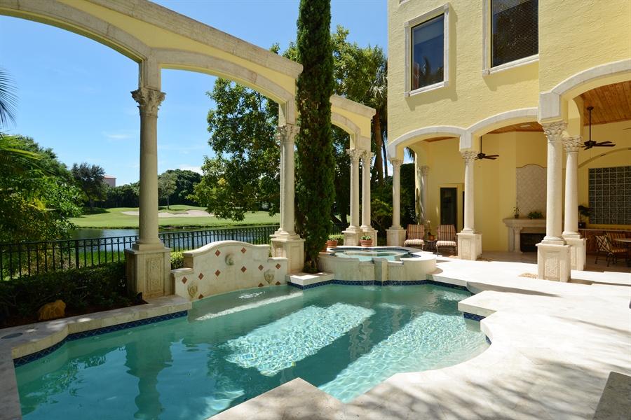 Real Estate Photography - 464 Adison Park Ln, Boca Raton, FL, 33432 - Pool