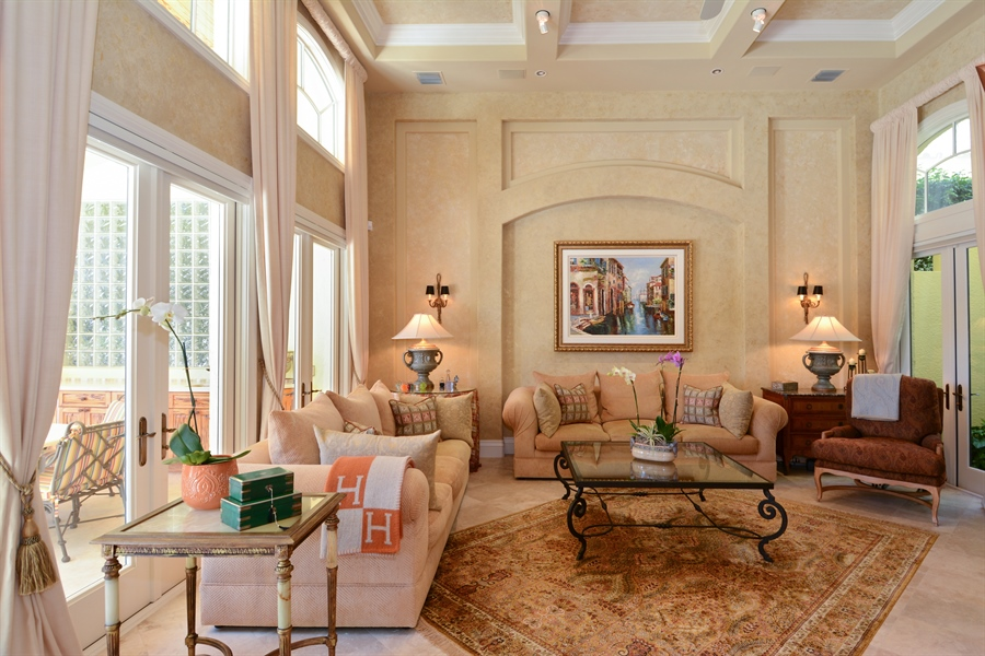 Real Estate Photography - 464 Adison Park Ln, Boca Raton, FL, 33432 - Family Room