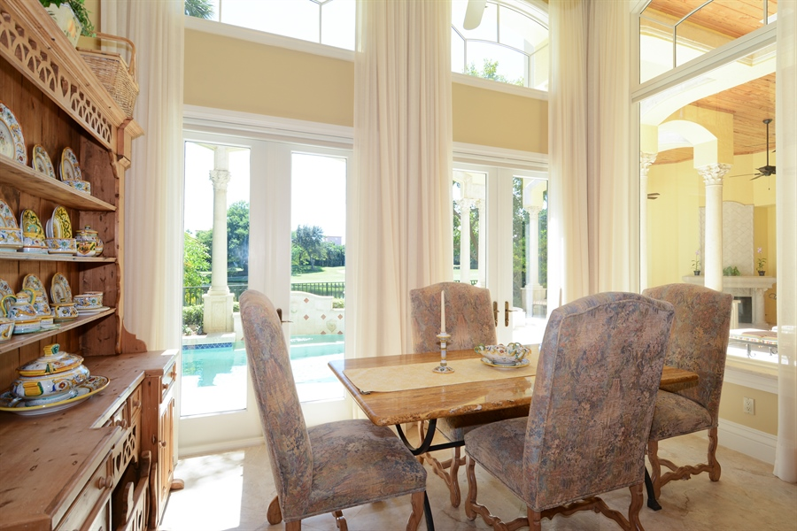 Real Estate Photography - 464 Adison Park Ln, Boca Raton, FL, 33432 - Breakfast Room