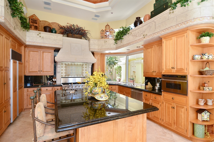 Real Estate Photography - 464 Adison Park Ln, Boca Raton, FL, 33432 - Kitchen