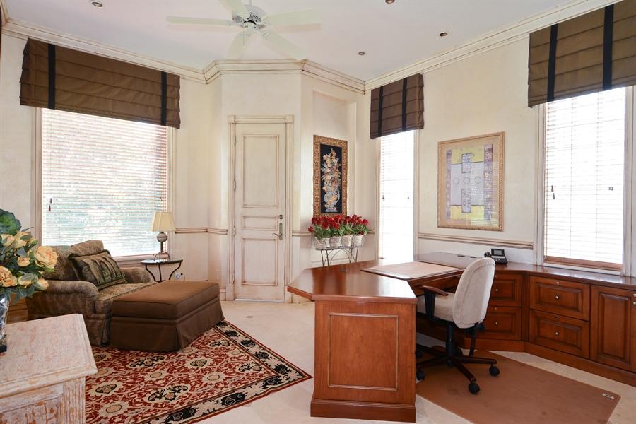 Real Estate Photography - 464 Adison Park Ln, Boca Raton, FL, 33432 - Office