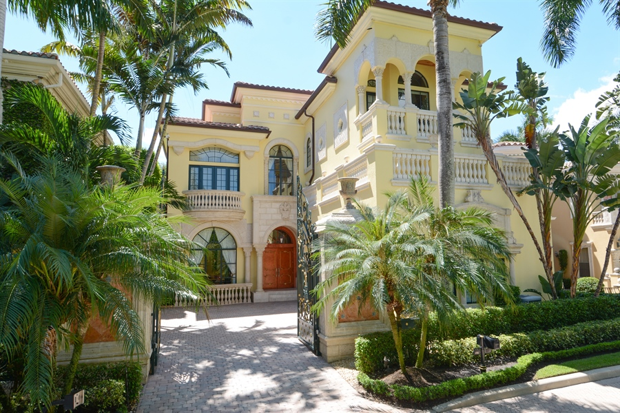 Real Estate Photography - 464 Adison Park Ln, Boca Raton, FL, 33432 - Front View