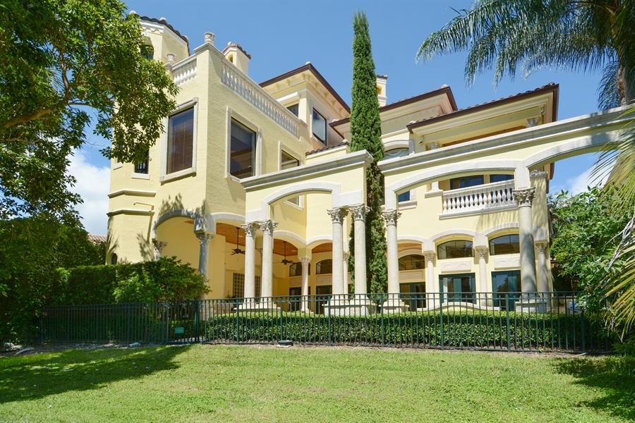 Real Estate Photography - 464 Adison Park Ln, Boca Raton, FL, 33432 - Rear View