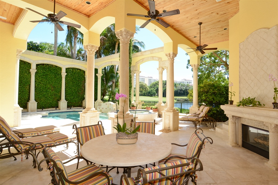 Real Estate Photography - 464 Adison Park Ln, Boca Raton, FL, 33432 - Patio