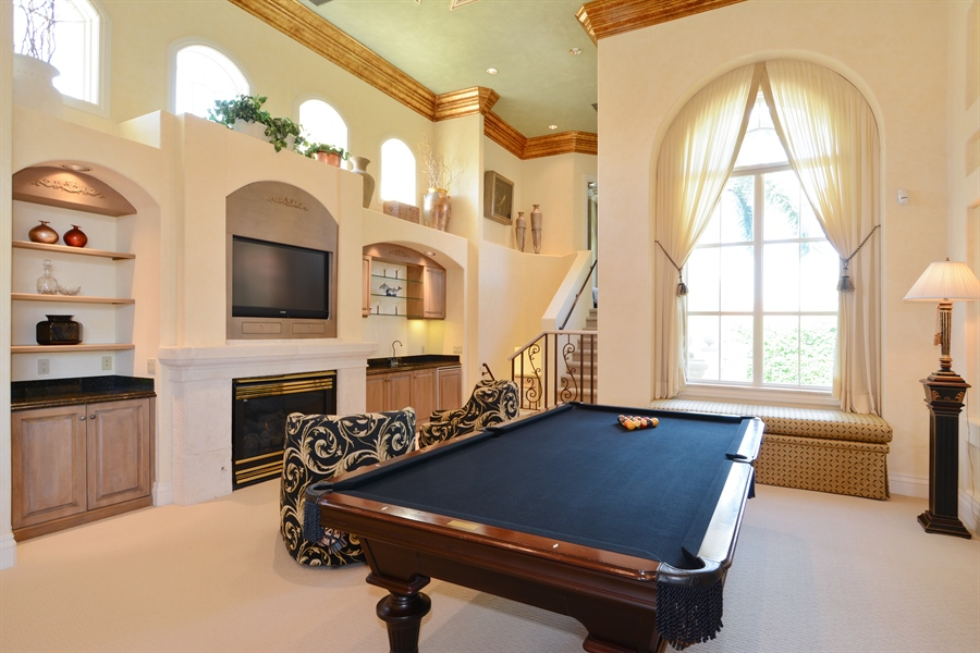 Real Estate Photography - 464 Adison Park Ln, Boca Raton, FL, 33432 - Play / Recreational Room