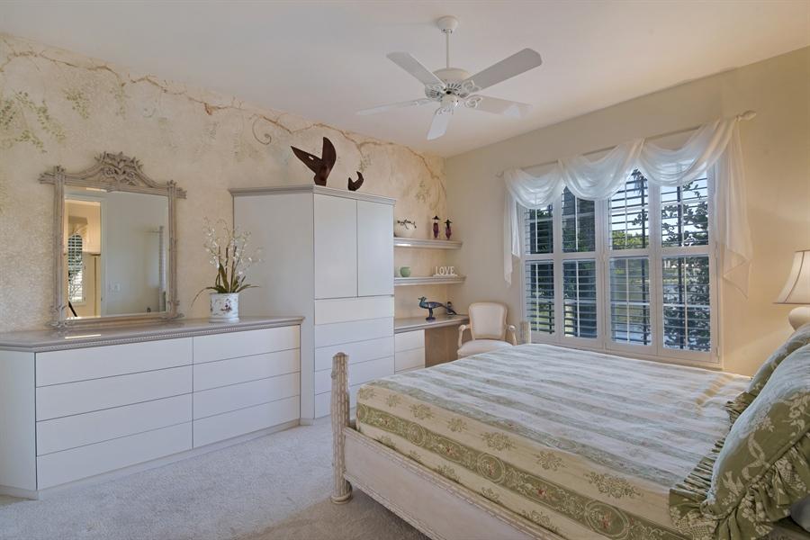 Real Estate Photography - 1905 Sevlle Blvd, Apt 312, Naples, FL, 34109 - Master Bedroom