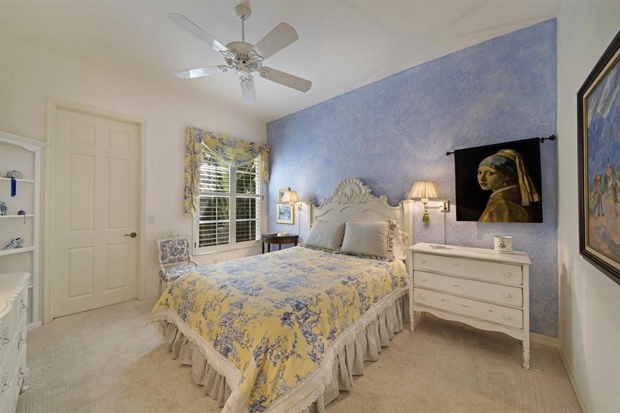 Real Estate Photography - 1905 Sevlle Blvd, Apt 312, Naples, FL, 34109 - 2nd Bedroom